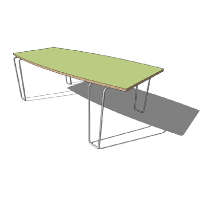 Hot Rod coffe table by Blu Dot, custom colour comb....