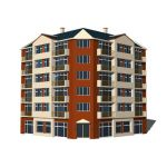 View Larger Image of Row Apartments A