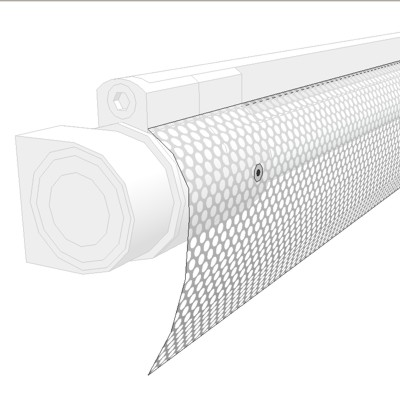 XBE Perforated Wing Lens for VODE Bee Rail Light F....