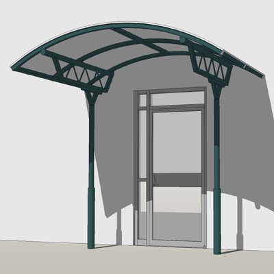 The Apollo Entrance Canopy is a two legged free st....