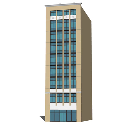 Row Buildings for Office and Commercial use..