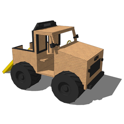 Model based on The Plastic Company Monster Truck p....