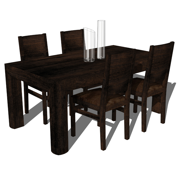 Etnochic Dining Room Set includes the Dining table....