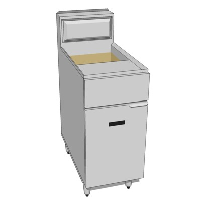Commercial Kitchen Fryer. AF35/50 by American Rang....