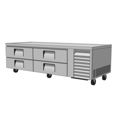 Commercial Kitchen Chef Base. Refrigerated Drawers....