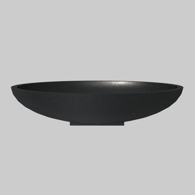 Designer Oval bath object, for ArchiCAD. Material ....