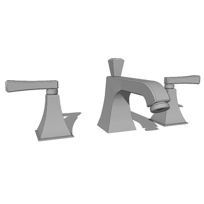 Model based on the Kohler K-454-4C Sink Faucet..