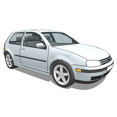 Volkswagen Golf Mark IV, 3 door