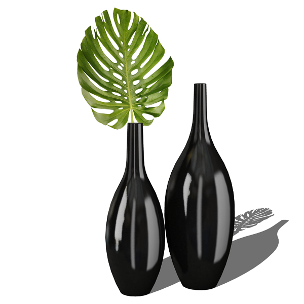 Photoreal Harmony vases collection. Autocad model ....