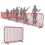View Larger Image of Crowd Control Barriers