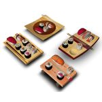 Four sushi serving boards that will give you a nic...