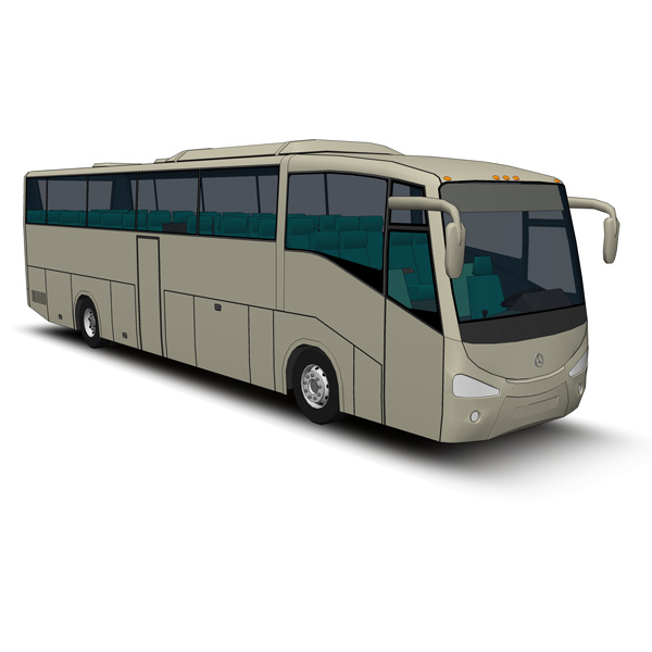 A state-of-the-art coach that is ideal for regular....
