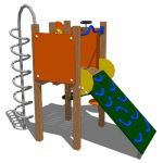 Model based on the Kompan Lofty Playstructure.