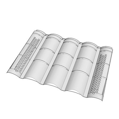 O'Hagin's vents for clay and tile roofs, M model.
