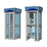 View Larger Image of Phone Booths Set B