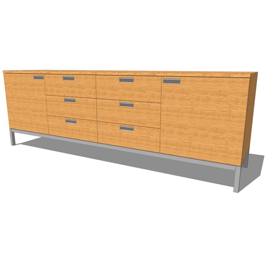 Florence Knoll Credenza. 4 Large options..