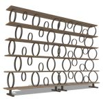 The Flying Circles shelving has been designed by M...