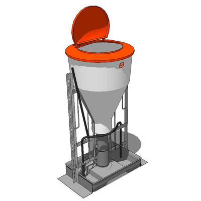 Automatic feeder for livestock..