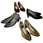 Four Elegant Women's shoes.