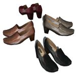 A formal women's shoes collection.
