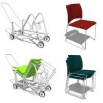 Allsteel Nimble Chair Set.