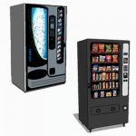 Drinks and snack vending machine