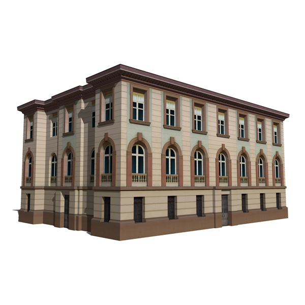 Fully Textured Classic Buildings (real content).