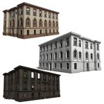 Fully Textured Classic Buildings (real content)