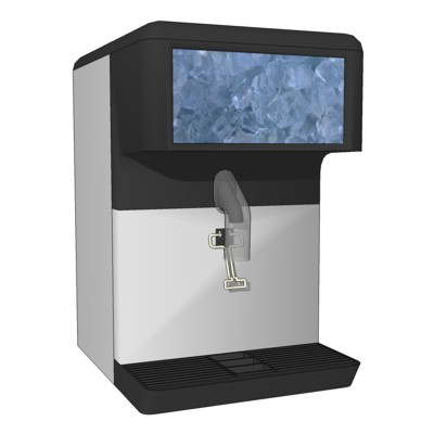 Counter top Ice Dispensing Machine. Modeled after ....