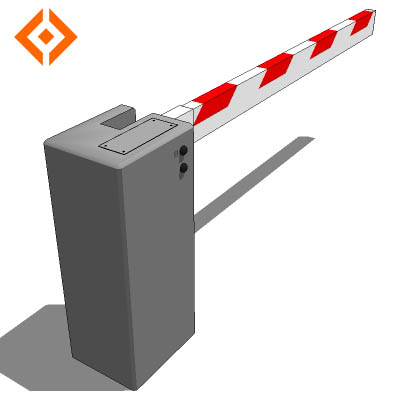 Dynamic Component (SketchUp V7). Vehicle barrier. ....