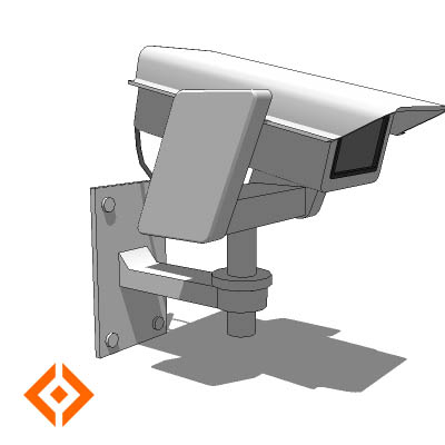 Dynamic Component. Security camera (wall and pole ....