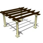 View Larger Image of FF_Model_ID11605_pergola05_thumb.jpg