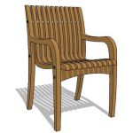 View Larger Image of Indonesian teak chair