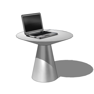 Modena laptop table by Roselli Design..