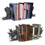 Boots and bulls book end