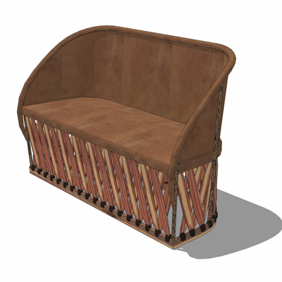 This handmade rustic leather furniture, crafted fr....