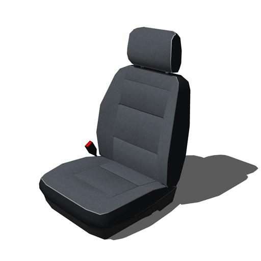 Car Seats Set A 3d Model Formfonts 3d Models Amp Textures