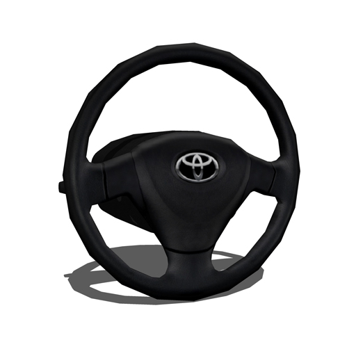 Three Steering Wheels.
