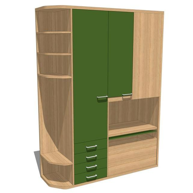 Dorm Room Set. Can be used in a school dorm room o....