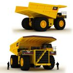 The 797B is one of the largest 