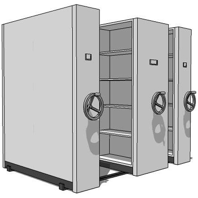 Mechanical filing storage system with optional low....