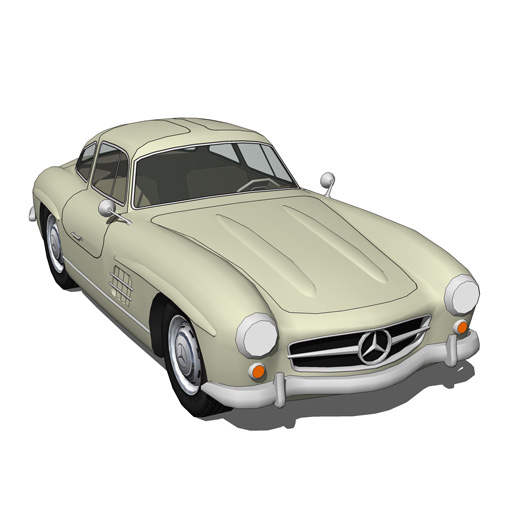 The Mercedes-Benz 300SL was a 