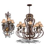 Classic Wall Sconce and Chandelier 02.