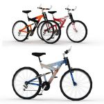 Mountain Bike in four 