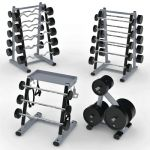 Life Fitness Signature Series Weights Storage Stat...