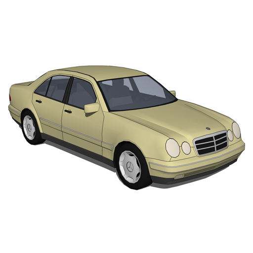 Mercedes Benz Series E W210.