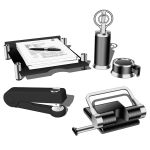 Croma desk set 02. Set includes hole puncher, stap...
