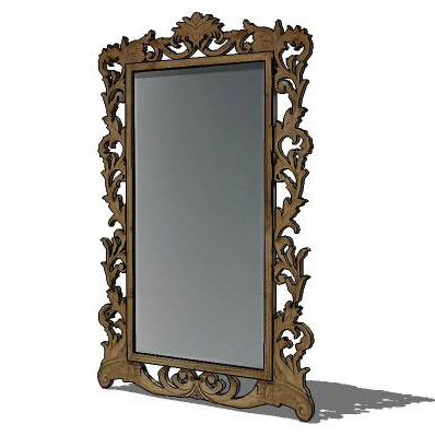 Large leaning floor mirror from Restoration Hardwa....