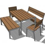 Etra outdoor dining set