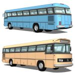 Classic coach Mercedes Benz 
